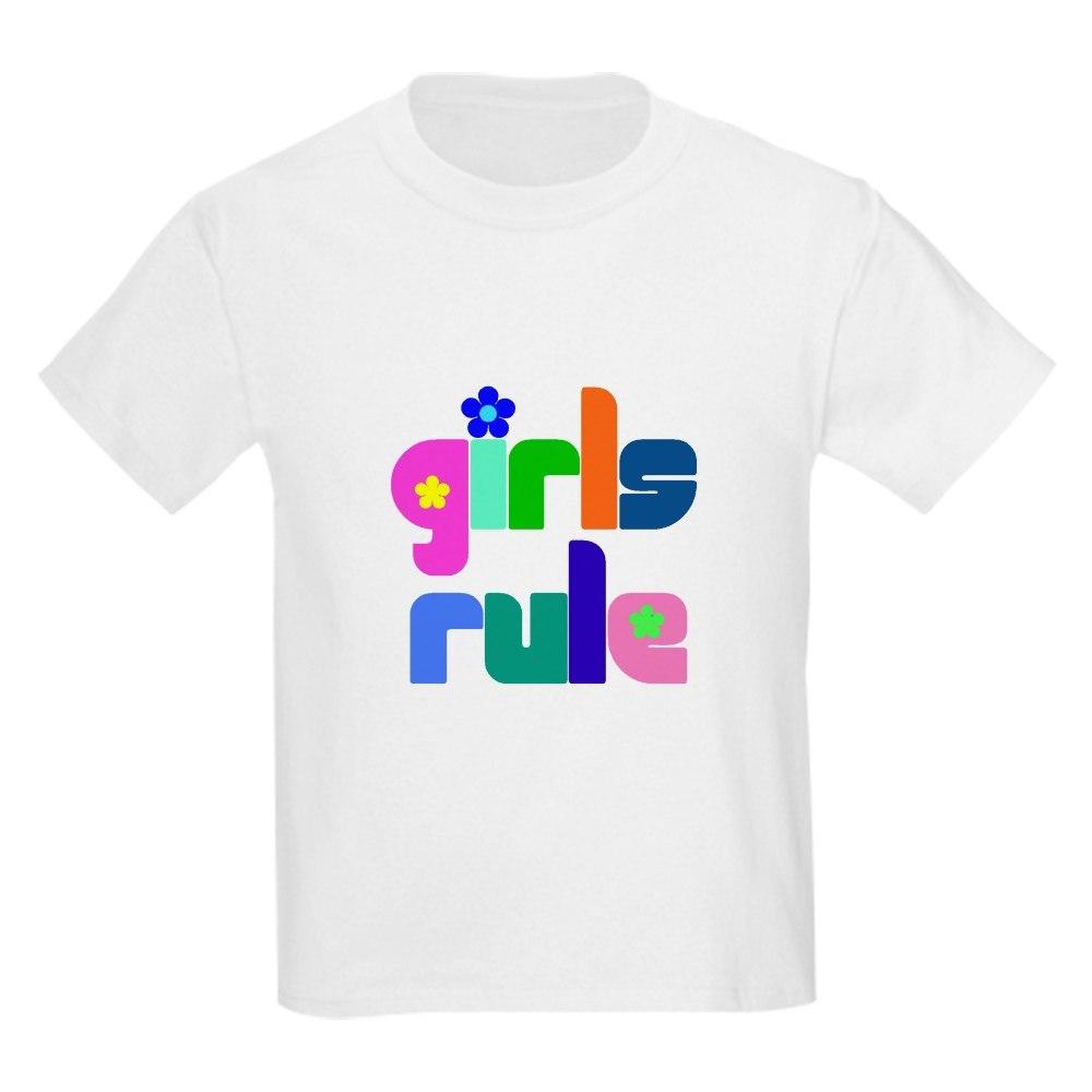 CafePress Girls rule Kids T-Shirt
