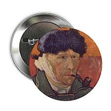 """Vincent Van Gogh Self Portrait 2.25"""" Button"""
