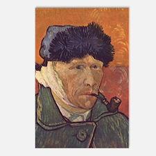 Vincent Van Gogh Self Por Postcards (Package of 8)