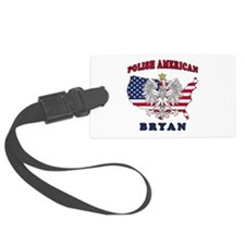 Bryan Texas Polish Luggage Tag