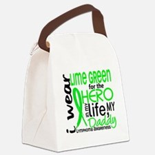D Hero In Life Daddy Lymphoma Canvas Lunch Bag