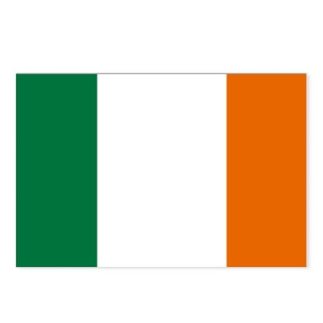 Ireland National Flag Postcards (Package of 8)
