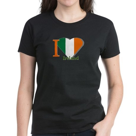 I love Ireland Women's Dark T-Shirt
