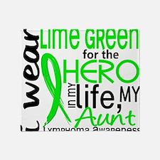 D Hero In Life Aunt Throw Blanket