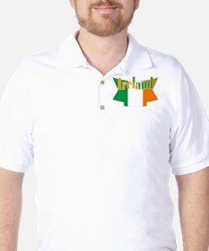 The Ireland flag ribbon T-Shirt