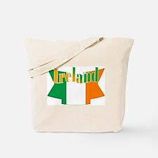 The Ireland Flag Ribbon Tote Bag