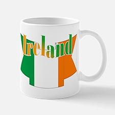 The Ireland Flag Ribbon Mug Mugs