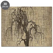 Vintage Willow Tree Puzzle
