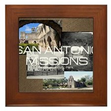 sanantonio1 Framed Tile