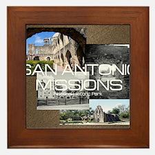 sanantonio1 Framed Tile