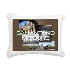 sanantonio1 Rectangular Canvas Pillow