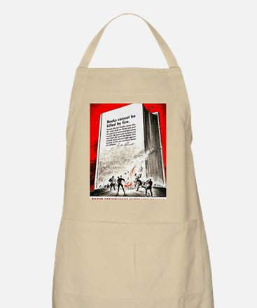 Books are weapons in the war of ideas Apron