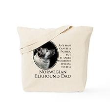 Elkhound Dad Tote Bag