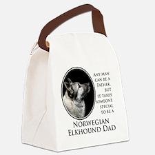 Elkhound Dad Canvas Lunch Bag