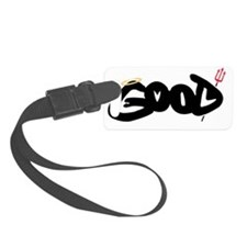 Good or Evil? Luggage Tag