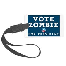 Vote Zombie 1 Banner Luggage Tag