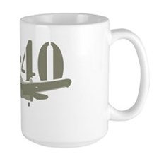 U.S. Airforce P-40 Fighter Mug