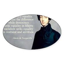 Alexis de Tocqueville Decal