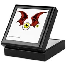 Flying Eyeball Keepsake Box