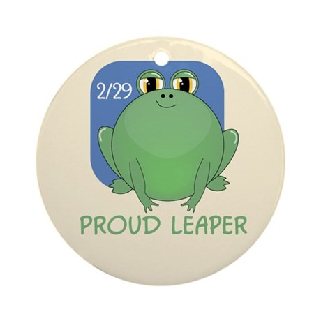 Proud Leaper Ornament (Round)