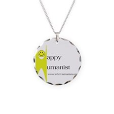 Yellow Happy Humanist Necklace