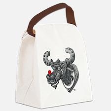 Merry Kissmoose Canvas Lunch Bag