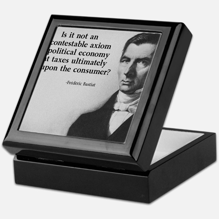 Frederic Bastiat Keepsake Box