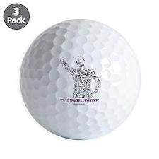 Male Everywhere Torso Golf Ball