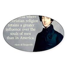 Christian America Decal
