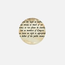 Davy Crockett Quote Mini Button