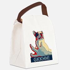 Mackie GKKHH! Shirt (rwb design) Canvas Lunch Bag