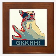 Mackie GKKHH! Shirt (rwb design) Framed Tile