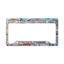 Cape May Cottages License Plate Holder
