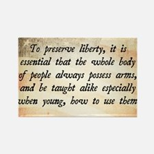 Richard Henry Lee Quote Rectangle Magnet