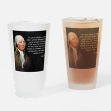 John Adams Christianity Quote Drinking Glass