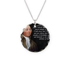 John Adams Christianity Quot Necklace