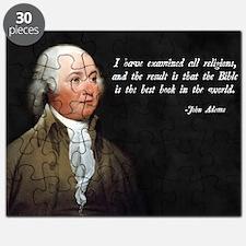 John Adams Christian Bible Puzzle
