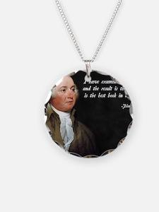 John Adams Christian Bible Necklace