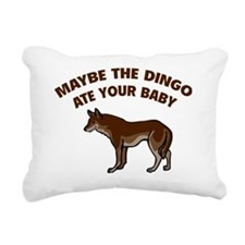 maybeDingo1C Rectangular Canvas Pillow