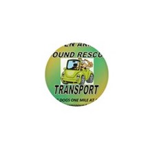 OPEN ARMS POUND RESCUE TRANSPORT Mini Button