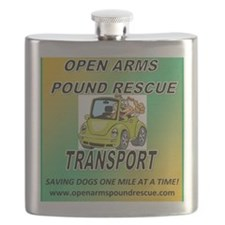 OPEN ARMS POUND RESCUE TRANSPORT Flask