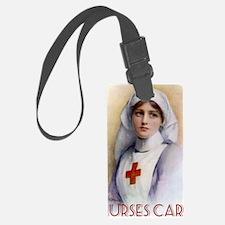 Nurses Care Shoulder Tote Bag Luggage Tag