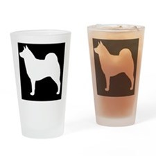 norelkhoundpatch Drinking Glass
