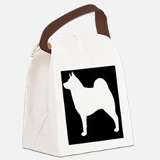norelkhoundpatch Canvas Lunch Bag