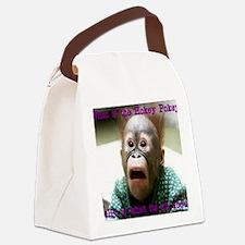 Hokey Pokey Orangutan Canvas Lunch Bag