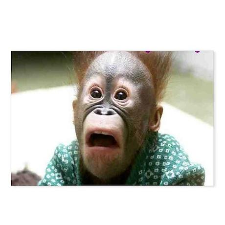Hokey Pokey Orangutan Postcards (Package of 8)