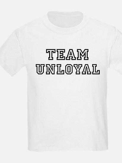 Team UNLOYAL Kids T-Shirt