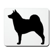 norwegianelkhoundblkZ Mousepad