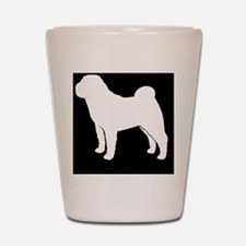 sharpeihitch Shot Glass