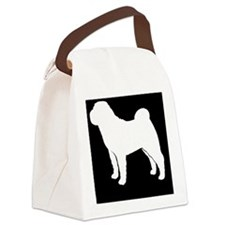 sharpeipatch Canvas Lunch Bag